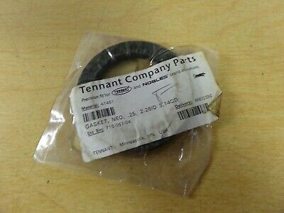 NEW Tennant 41451 Lid Gasket NEO .25 2.26 ID 3.14OD *FREE SHIPPING*