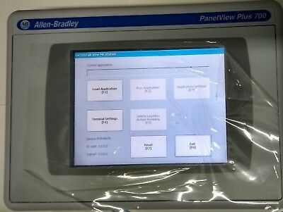 Allen Bradley Panelview Plus 700 Hmi New