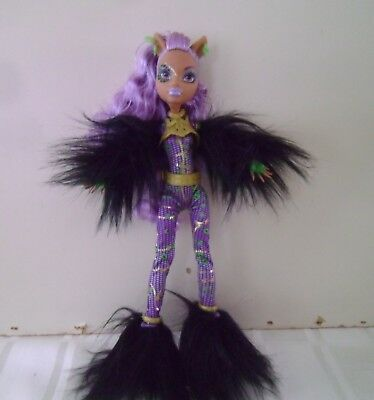 Monster High Ghouls Rule Clawdeen doll