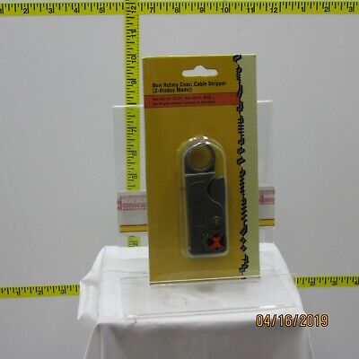 Rotary Coax Cable Stripper (2-Blades Model).
