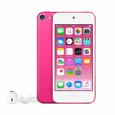 Apple iPod Touch 128GB 6th Generation Pink MP3 Player - MKWK2LL/A