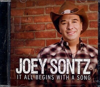 Joey Sontz It All Begins With A Song CD Album