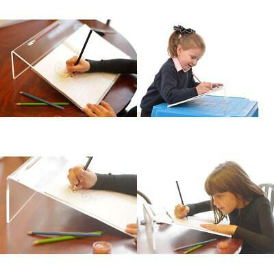 Clear Acrylic Ergonomic Writing Slope Extra Wide For Better Writing Posture 20