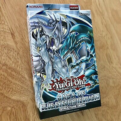 Saga of the Blue-Eyes White Dragon Structure Deck Unlimited Ed SDBE YuGiOh!