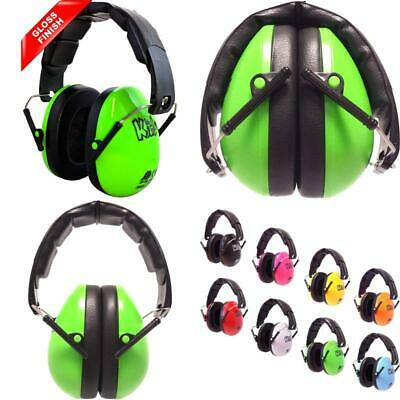Ear Defenders Neon Green Gloss Weight 190 Grams Strong Enough 17Cm H 13Cm W
