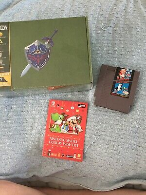 Zelda Collectors Box/ Nintendo Super Mario Bros& Duck Hunt Game/ Catalog