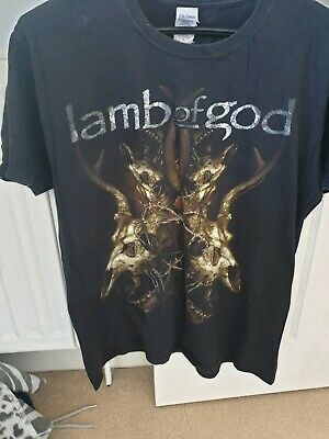 Lamb Of God Tshirt Size M Metal