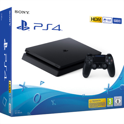 Sony PS4 Play Station 4 Console 500GB F Black Nero Garanzia Italia 24 MESI