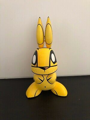 "The Loyal Subjects 4/""Joe Ledbetter CHAOS BUNNIES minis Fire-cat figure 2//16"