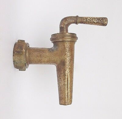 Antique Wine Barrel/Cask Brass Tap