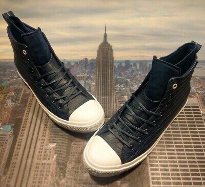 28ecefea5b56 Converse Chuck Taylor All Star WP Boot High Top Midnight Navy Size 11.5  157490c