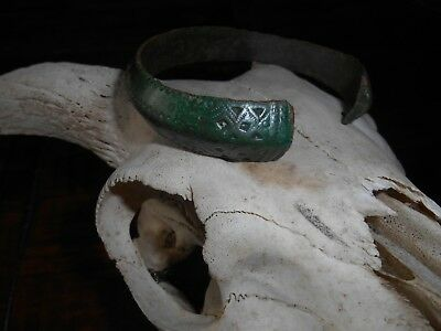 Viking ancient bronze  bracelet 9 -11 th century AD original