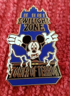 Disney MGM Twilight Zone Tower of Terror with Mickey Mouse Pin