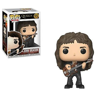Funko - Pop Rocks Queen John Deacon Brandneu in Box