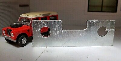 Land Rover Series 2a 3 Defender Galv Tow Hitch Drop Plate Spreader Spacer 562756