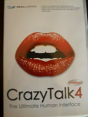 Reallusion - Crazytalk 4 - The Ultimate Human Interface For Pc