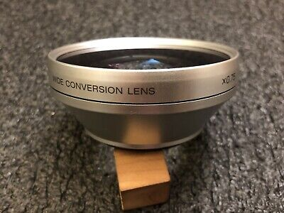 Sony Wide Conversion Lens 0.75x For Sony DSC-W170 EUC! VCL-D076 Digital Camera