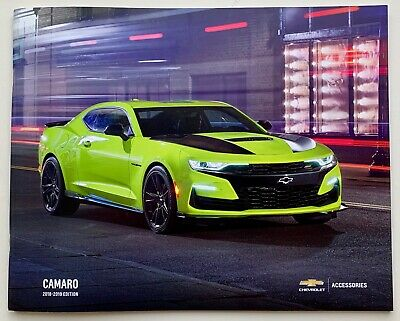2019 Chevy Camaro Acessories Brochure - 39 Pages Original Sales Brochure