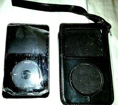 Apple iPod Black 60GB w/Case, USB Charger factory seal full music can be deleted