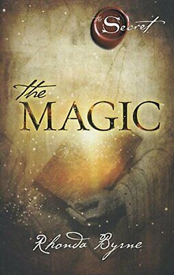 The Magic by Rhonda Byrne Paperback Book New Free Shipping