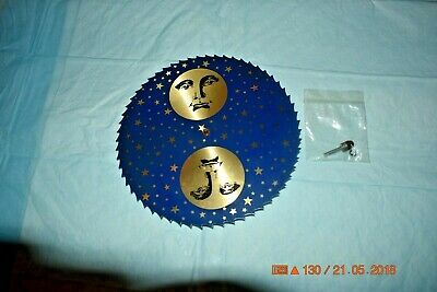 Grandfather Clock moon calendar dial for parts or project
