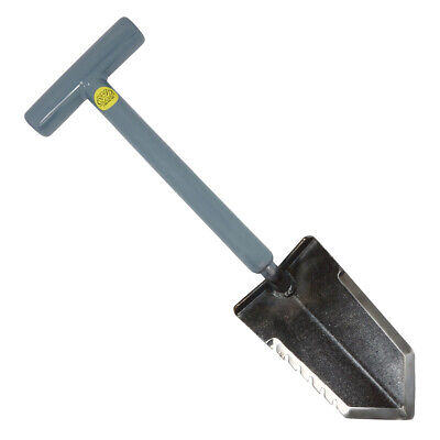 "Lesche Mini Sampson 18"" T-Handle Metal Detector Shovel with Serrated Blade"