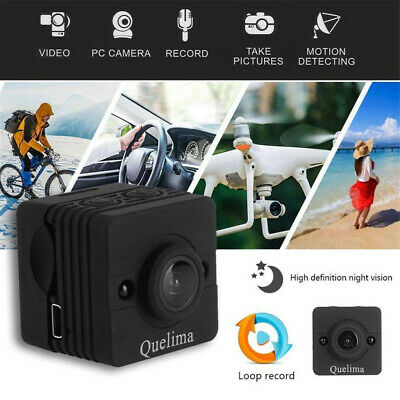 Quelima SQ12 Spy Hidden DV DVR Camera FHD 1080P Mini Car Dash Cam Night Vision