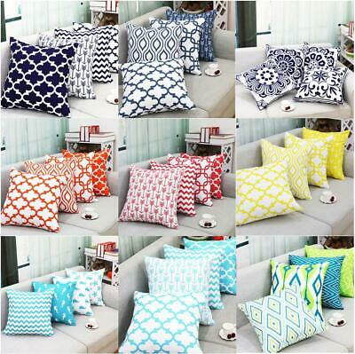 """Stripe Pillowcase Cushion Case Home Decoration Polyester Cushion Cover Gift 18"""""""