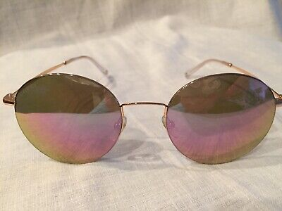 3a2d6c7056a Gucci Round Metal Sunglasses with Logo GG 4273 S DDB Gold Copper NWT