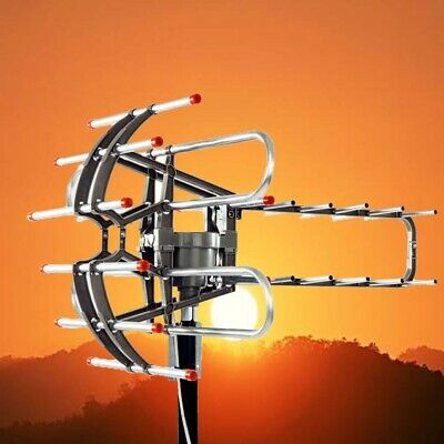 450Miles Long Range HD Digital Antenna TV HDTV Outdoor Antenna  4K 1080P UHF/VHF