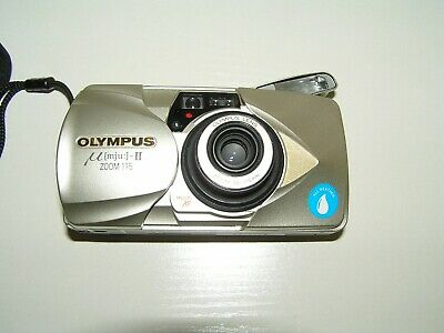 OLYMPUS [MJU:]-II - ZOOM 115 - 38-115mm IN CASE + BOXED WITH PAPERWORK INCLUDED