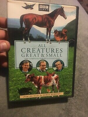 All Creatures Great and Small - Series One Set (DVD, 2002, 4-Disc Set, Four Disc