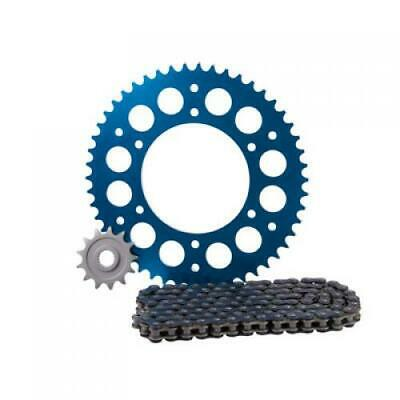 Primary Drive Alloy Kit & O-Ring Chain Blue Rear Sprocket Part #1021390202