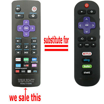 Remote Control for TCL Roku TV 32S305 49S405 49S403 43S303 55S403 32S301 43FP110