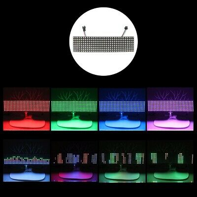WS2812B RGB 8*32 Pixels Digital Flexible Dot Matrix Individually Addressable LED
