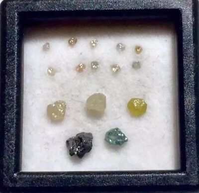 Natural Rough African Diamond Lot Mixed Fancy Gem 1CT