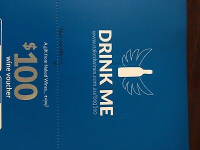 $100 Wine Voucher For Naked Wines