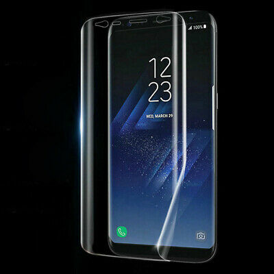 Full Coverage Soft TPU Screen Protector Film For Samsung Galaxy S6 S7 S8 Note 8