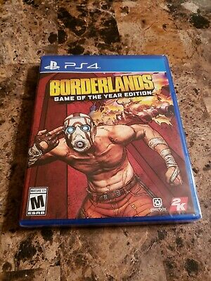 Borderlands - Game of the Year Edition PS4 2019 - Physical Edition. Sealed