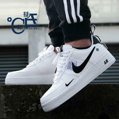 NIKE AIR FORCE 1 ONE UTILITY LOW WHITE 07 LV8 Sneaker schuhe Damen Herrenschuhe
