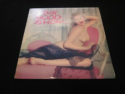 Sexy Cover Cheesecake Pink Mood Show Vol.3 Rare Japan Only Lp Vinyl 1962 Jv-5048