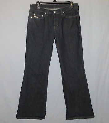 9f246d15 Diesel Industry Daze Womens Blue Jeans Size 30 x 31 Cotton Button Fly Flare