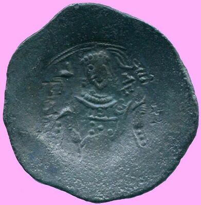 AUTHENTIC BYZANTINE EMPIRE  Aspron Trache Coin  3.53 g/25.94  mm BYZ1017.13
