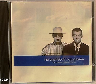 Pet Shop Boys - Discography: The Complete Singles Collection (CD 1991)