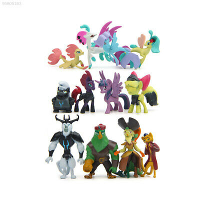 308F 12Pcs Little Horse Pony Action Figure Movie Characters Children Display