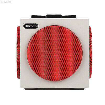 5D6D Mini Cube Wireless Speakers For Tablet PC Smartphone MP3 White BT2.1 Sound