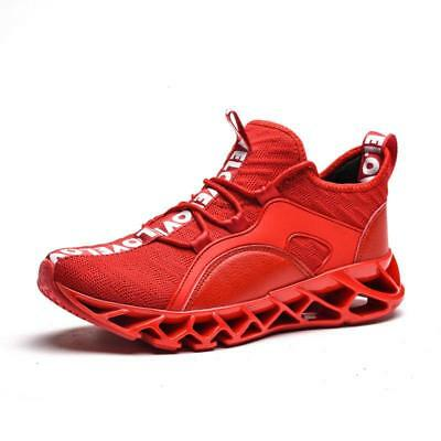 Men's Sports Sneakers Casual Shoes Flyknit Flywire Athletic Jogging Shoe Boots