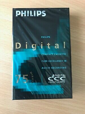 New & Sealed Philips Digital Compact Cassette Dcc 75 Minutes