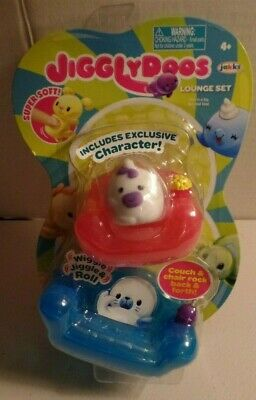 Details about  /Brand New In Package,Jigglydoos Lounge Set Squishy Exclusive Unicorn Lot Of 2