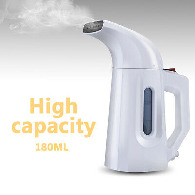 Portable Steamer Fabric Clothes Garment Steam Iron Hand Held Compact White New